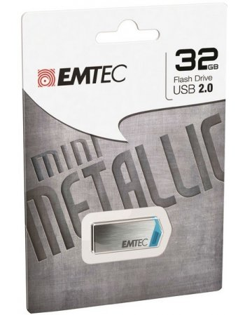 EMTEC FLASH USB 2.0 32GB MINI METALLIC