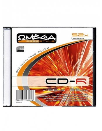 FREESTYLE CD-R 700 MB/80 Min SLIM CASE 10TEM.
