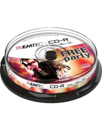 ΔΙΣΚΟΙ EMTEC CD-R 80min/700MB 52X CB 10τεμ