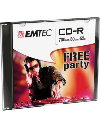 ΔΙΣΚΟΙ EMTEC CD-R 80min/700MB 52X SLIM 10τεμ