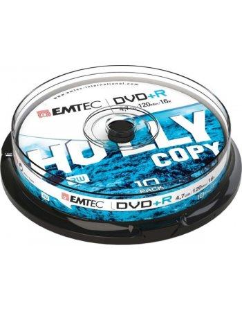 ΔΙΣΚΟΙ EMTEC DVD+R 4,7GB 16X CB 10τεμ