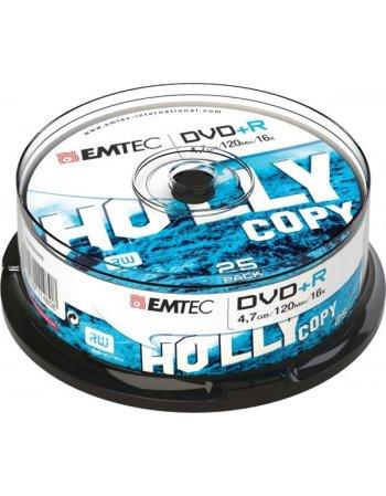 ΔΙΣΚΟΙ EMTEC DVD+R 4,7GB 16X CB 25τεμ