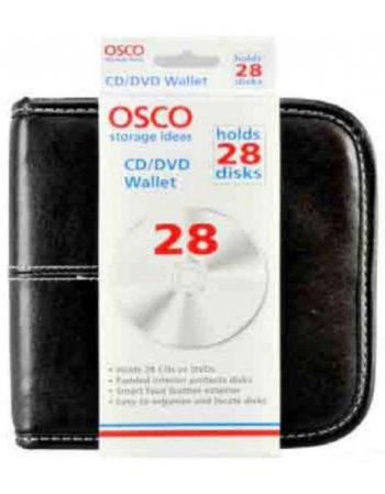 ΘΗΚΗ OSCO ΓΙΑ CD/WALLET/28Θ ΔΕΡΜΑ ΚΑΦΕ Νο 9819