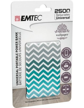 ΦΟΡΤΙΣΤΗΣ EMTEC POWER BANK 2500mAh WP02U