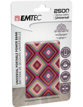 ΦΟΡΤΙΣΤΗΣ EMTEC POWER BANK 2500mAh WP10U