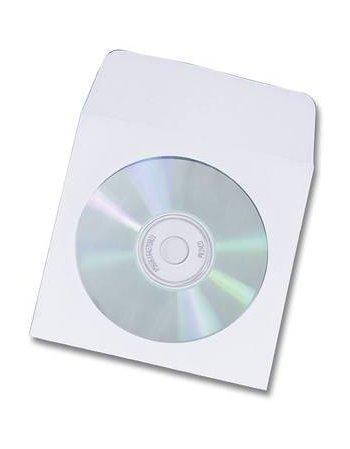 ΦΑΚΕΛΟΣ ΓΙΑ CD ΜΕ ΠΑΡΑΘΥΡΟ AYTOKΟΛΛΗΤΟΣ(500 τεμ)