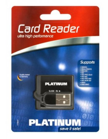CARD READER PLATINUM All-In-One