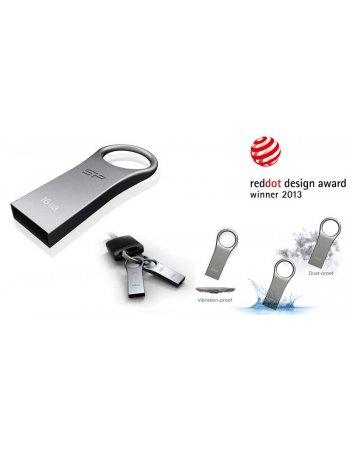 SP FLASH USB 2.0 16GB F80 FIRMA SILVER