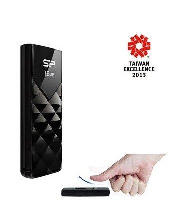 SP FLASH USB 2.0 16GB ULTIMA U03 ΜΑΥΡΟ