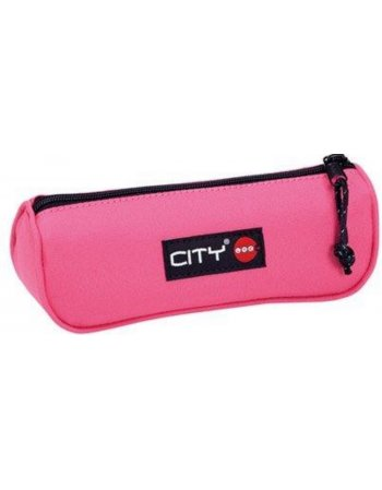 ΚΑΣΕΤΙΝΑ CITY ECLAIR BUBBLEGUM PINK 1zip