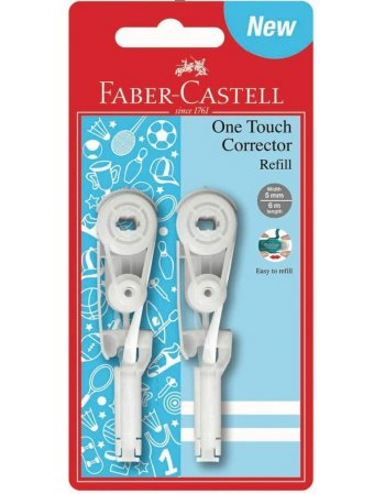 FABER CASTELL ΑΝΤΑΛΛΑΚΤΙΚΑ ΔΙΟΡΘ. ΤΑΙΝΙΑΣ ONE TOUCH 2 ΤΕΜ.