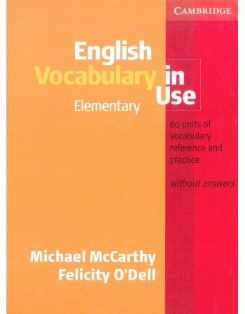 ENGLISH VOCABULARY IN USE ELEMENTARY SB