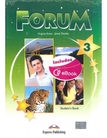 FORUM 3 STUDENT'S BOOK+iebook