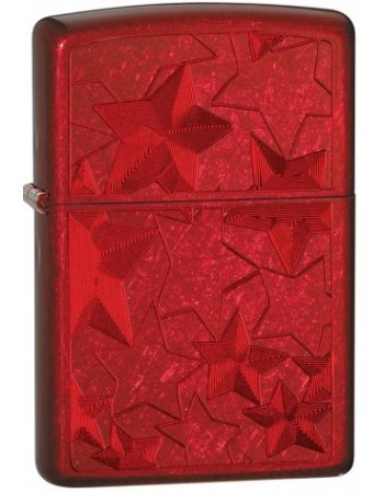 ZIPPO 28339 RED ICED STARS