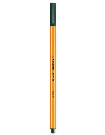 ΜΑΡΚΑΔΟΡΟΣ STABILO 0.4mm 88/63 ΣΚ.ΠΡΑΣΙΝΟΣ