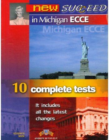 NEW SUCCEED IN MICHIGAN ECCE 10 COMPETE TESTS - STUDENT'S...