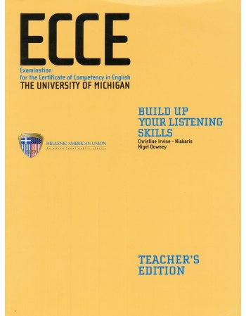 ECCE - BUILD UP YOUR LISTENING SKILLS TEACHER'S BOOK