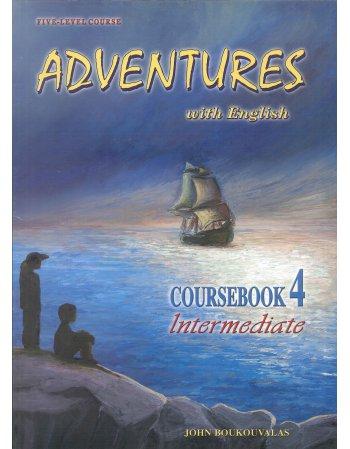 ADVENTURES ON ENGLISH 4 COURSEBOOK INTERMEDIATE