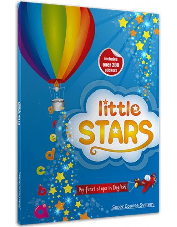 LITTLE STARS (ΠΑΚΕΤΟ ΒΙΒΛΙΟ+ CD+ STICKERS)