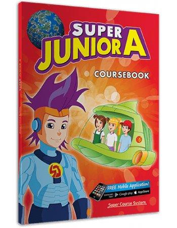 SUPER JUNIOR A STUDENT'S BOOK + CD