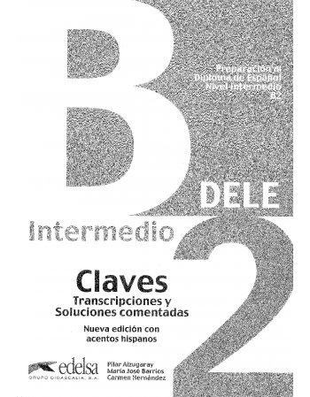 PERPARACION AL DIPLOMA DE ESPANOL NIVEL INTERMEDIO B2