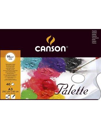 ΠΑΛΕΤA CANSON ΧΑΡΤΙΝH 29,7x42 (95gr-40φύλλα)