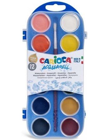 ΝΕΡΟΜΠΟΓΙΕΣ CARIOCA 12TEM. PLASTIC CASE 30mm