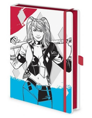 PYRAMID PREMIUM NOTEBOOK A5 SR73054 HARLEY QUIN