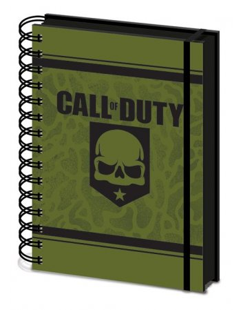PYRAMID NOTEBOOK A5 SR72962 CALL OF DUTY