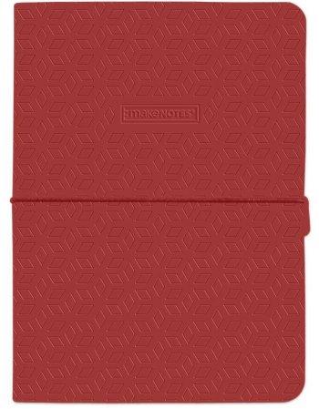 ΣΗΜΕΙΩΜΑΤΑΡΙΟ MAKE NOTES ONECOLOUR RED A5 ΡΙΓΕ
