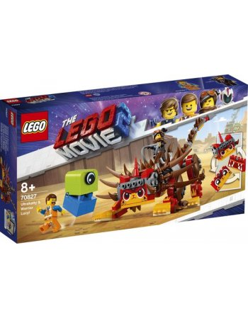 LEGO MOVIE 2 ULTRAKATTY & WARRIOR LUCY (70827)