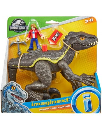 FISHER PRICE IMAGINEXT JURASSIC WORLD INDORAPTOR AND...