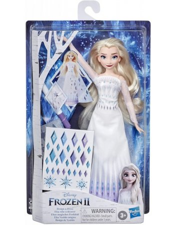 HASBRO DISNEY FROZEN 2 - ELSA DESIGN A DRESS (E9966)