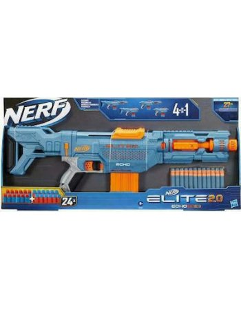 HASBRO NERF ELITE - ECHO CS - 10 BLASTER 4in1 24 OFFICIAL...