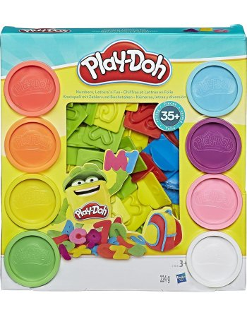 HASBRO PLAY-DOH NUMBERS LETTERS AND FUN (21018EU4)