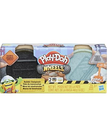 HASBRO PLAY-DOH WHEELS BUILDIN' COMPOUND (E4524EU41)