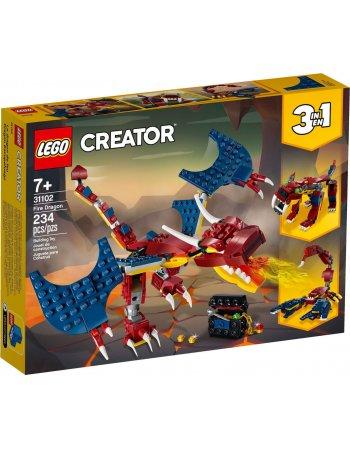 LEGO CREATOR: ΔΡΑΚΟΣ ΤΗΣ ΦΩΤΙΑΣ (31102)