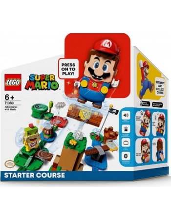 LEGO SUPER MARIO: ΒΑΣΙΚΗ ΠΙΣΤΑ - ΠΕΡΙΠΕΤΕΙΕΣ ΜΕ ΤΟΝ MARIO...