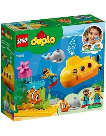 LEGO DUPLO TOWN: ΠΕΡΙΠΕΤΕΙΑ ΜΕ ΥΠΟΒΡΥΧΙΟ (10910)