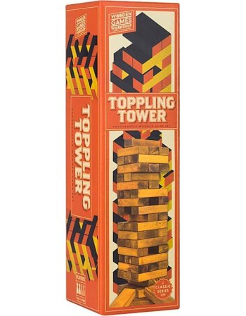 PROFFESOR PUZZLE TOPPLING TOWER - ΠΥΡΓΟΣ ΙΣΟΡΡΟΠΙΑΣ