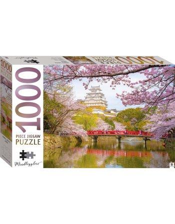 HINKLER ΠΑΖΛ HIMEJI CASTLE JAPAN 1000 KOMMATIA