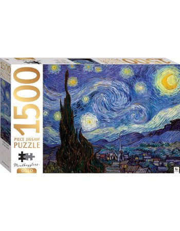 HINKLER ΠΑΖΛ STARRY NIGHT BY VAN GOGH 1500 KOMMATIA