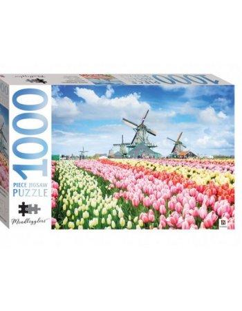 ΠΑΖΛ HINKLER  DUTCH WINDMILLS, HOLLAND, NETHERLANDS 1000...