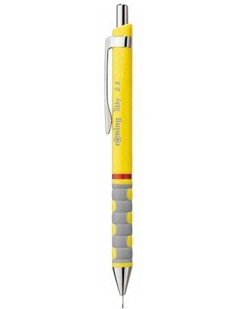 ΜΗΧΑΝΙΚΟ ΜΟΛΥΒΙ ROTRING TIKKY NEON ΚΙΤΡΙΝΟ 0.5mm