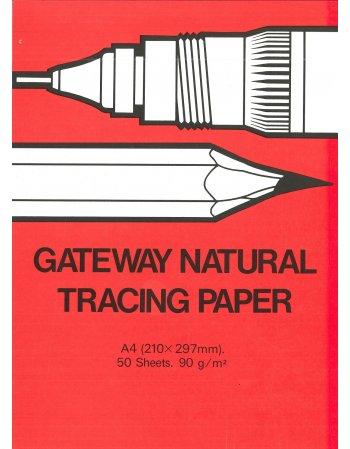 ΜΠΛΟΚ ΡΙΖΟΧΑΡΤΟ GATEWAY NATURAL TRACING PAPER Α4