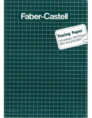 ΜΠΛΟΚ ΡΙΖΟΧΑΡΤΟ FABER CASTELL TRACING PAPER A4
