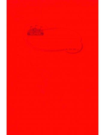 """ΤΕΤΡΑΔΙΟ SUPER ΔΙΕΘΝΕΣ"""" P.P. ΔΙΑΦΑΝΗ ΚΟΚΚΙΝΟ 17Χ25 50 ΦΥΛΛΑ"""