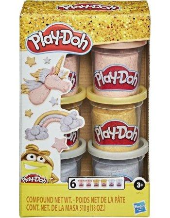 HASBRO PLAY-DOH: METALLICS COMPOUND COLLECTION (E9433)
